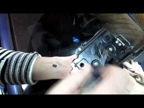 Ремонт микровыключателя замка двери Пассат Б5, Ауди, Шкода.