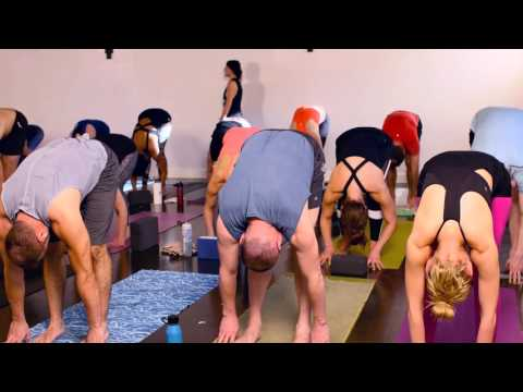 1 Hour Power Flow Yoga Class at yogatown with Kelly Cameron
