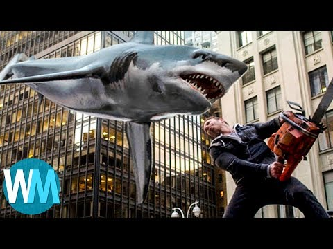Top 10 Hilarious Movie Shark Attacks thumbnail