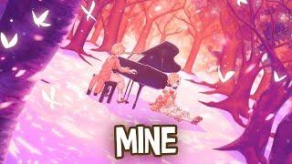 Nightcore - Mine (Acoustic) - Emily Vaughn (Lyrics)
