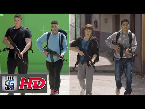 "CGI VFX  Breakdowns HD: ""El Principe Season 2"" - by Stargate Studios Malta"