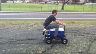 New Motorised Ride on Esky!