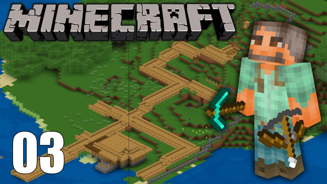 Let 39 S Play Minecraft Episode 3 City Planning Youtube