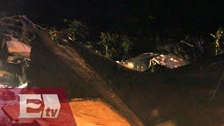 Avionazo en Ocampo, Coahuila deja cuatro muertos / Excélsior Informa