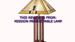 Buy Table Lamp - Bedroom Table Lamps - Mission Prairie Table Lamp