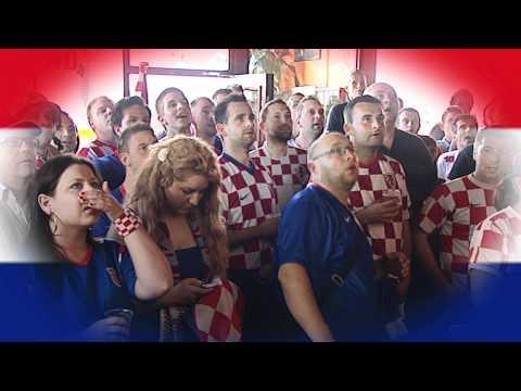 italie- kroatie EK 2012 in de Schuimspaan Rotterdam