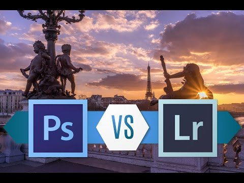 The Difference between Photoshop/Camera RAW and Lightroom