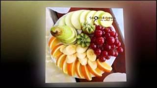 Рецепты нарезки на праздничный стол, праздничное оформление фруктовой нарезки