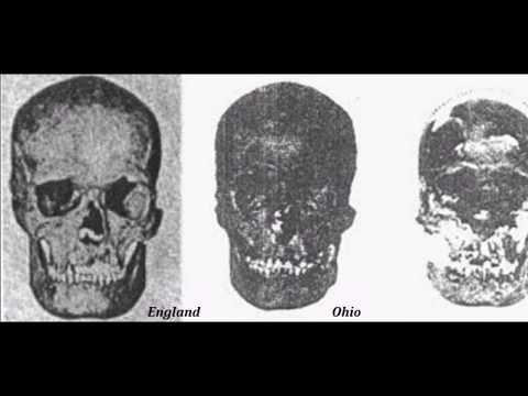 Identical Nephilim Giant's Skulls Discovered in England and Ohio