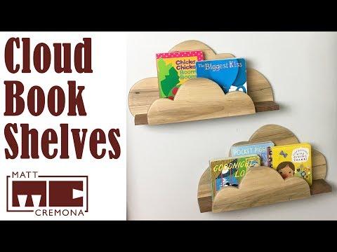 Lindsay Makes Cloud Bookshelves | Woodworking