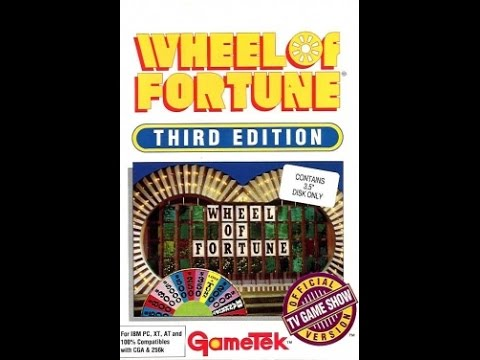 Wheel of Fortune New Third Edition (MS-DOS)