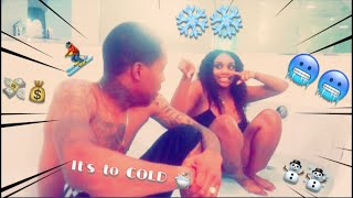 Ice Bath Challenge; Winner gets $4K ❄️🛁☃️  (He got FrostBite 🥶 )
