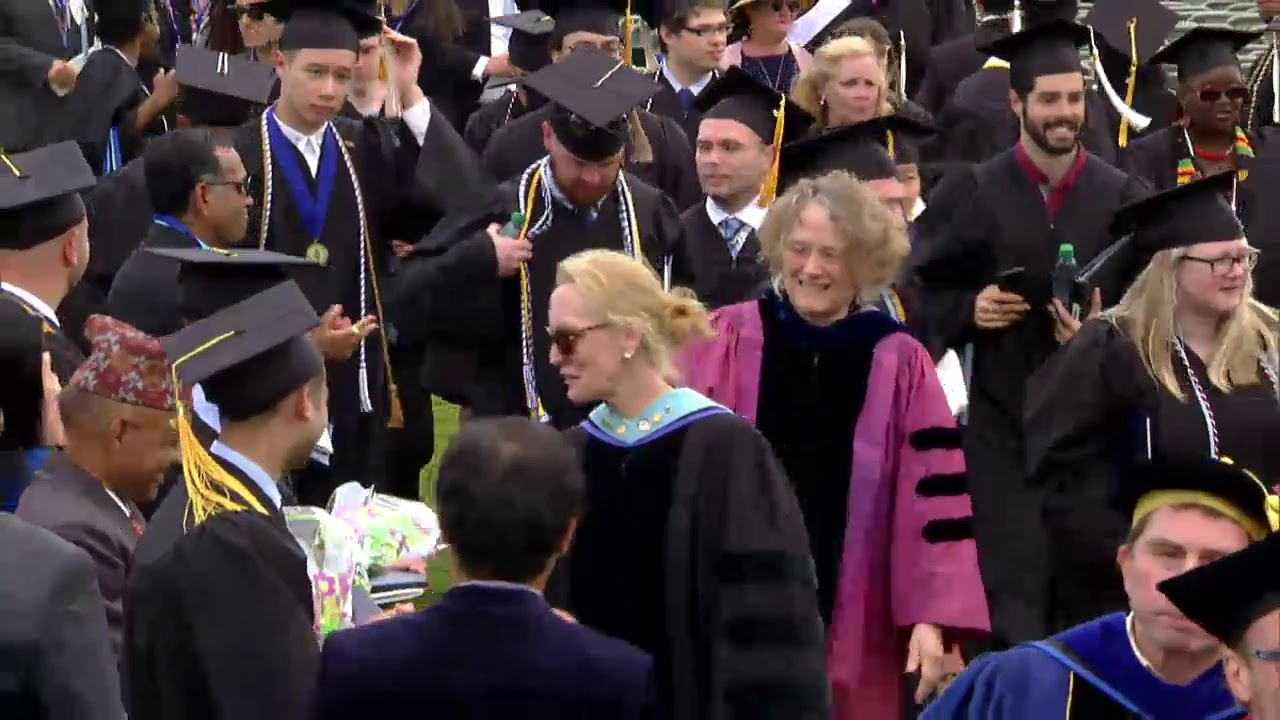 Umass Boston Graduation 2020.Rep Ayanna Pressley Praises Umass Boston Graduates As