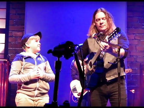 Gabe's First Concert Sweet Alan , Alan Doyle & The Beautiful Beautiful Band, Fredericton