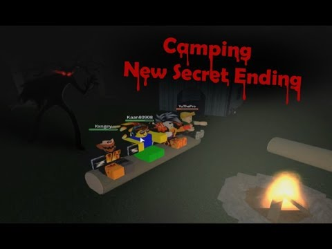 Roblox Camping New Secret Ending Win And Make It Out Alive - roblox camping 2 maze