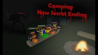 ROBLOX CAMPING NEW SECRET ENDING! | WIN AND MAKE IT OUT ALIVE!?