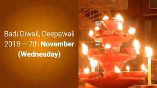 diwali 2018 date and pooja time