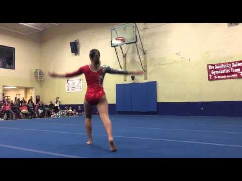 Floor Exercise to Torn
