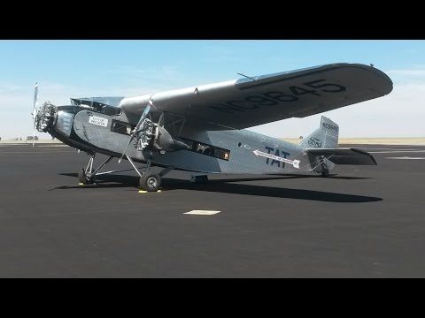1928 Ford Tri-Motor - Flying in a piece of history.