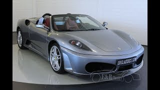 Ferrari F430 F1 Spider 2005 -VIDEO- www.ERclassics.com