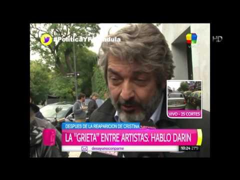 """Ricardo Darín: """"Para ir en contra de la grieta, no hay que hablar más de ella"""""""
