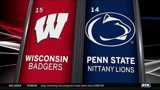 Wisconsin at Penn State - Men's Hockey Highlights