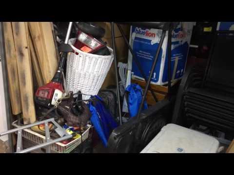 abandoned-storage-unit-furniture-kids-bike-at-kilsyth-vic-3153