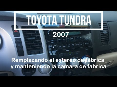 2007 Toyota Tundra Factory Stereo Upgrade And Keeping The Factory Camera
