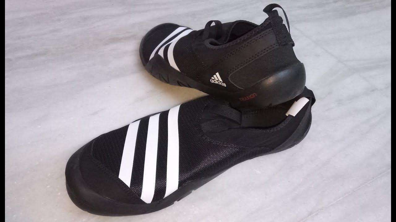 5bcaaf30e770 Adidas Climacool JawPaw Slip On Men s Training Shoes Unboxing - YouTube