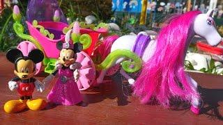 Видео для девочек. Микки Маус Дисней приглашает Минни на бал