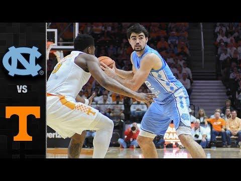 North Carolina vs. Tennessee Basketball Highlights (2017-18)