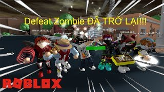Roblox: 'NHANH TAY' Game Defeat Zombie Đã Trở Lại! (Defeat Zombie #3 - Punch Simulator)
