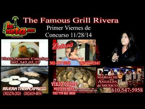 Zulema Campos Primer viernes de concurso de karaoke