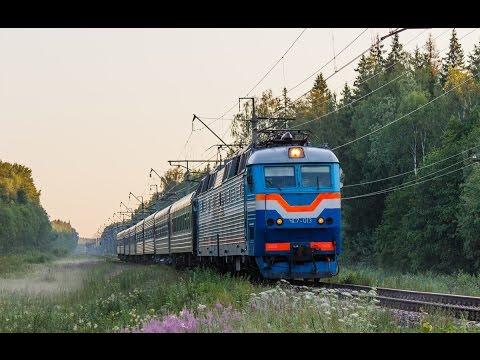 ЧС7-013 с поездом №601 Рыбинск - Москва