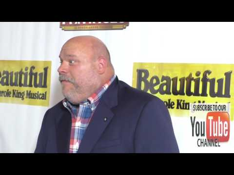 Kevin Chamberlin at the Premiere Of Beautiful   The Carole King Musical at Pantages Theatre in Holly