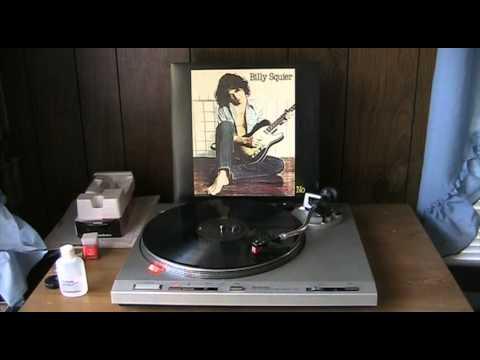 Billy Squier The Stroke 180 Gram Vinyl Youtube
