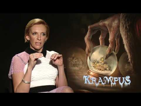 Krampus: Toni Collette Official Movie Interview