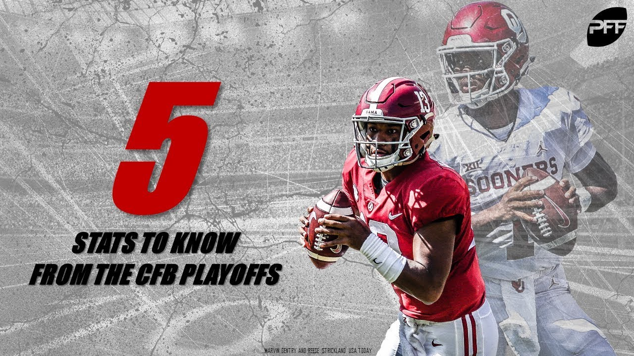 5 Stats to Know from the CFB Playoffs | PFF