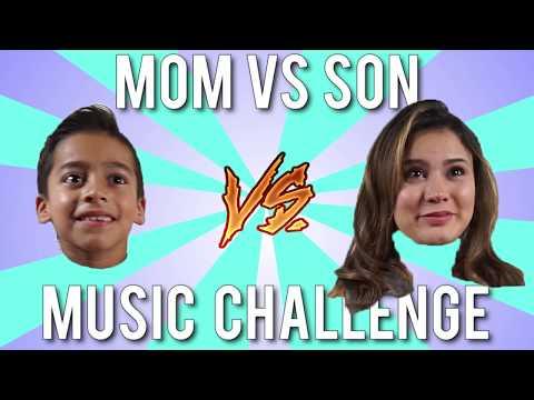 Mom Vs Son MUSIC CHALLENGE!!! Who Will Win????