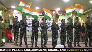 Aye Watan Watan mere aabad rahe tu by V K English School students