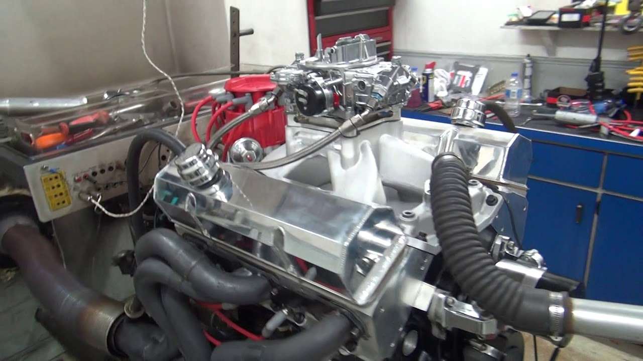 Sbc 552hp 406 engine dyno run for james riffel by white performance and machine