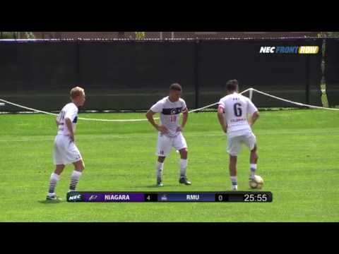 RMU vs Niagara - Men's Soccer Highlights