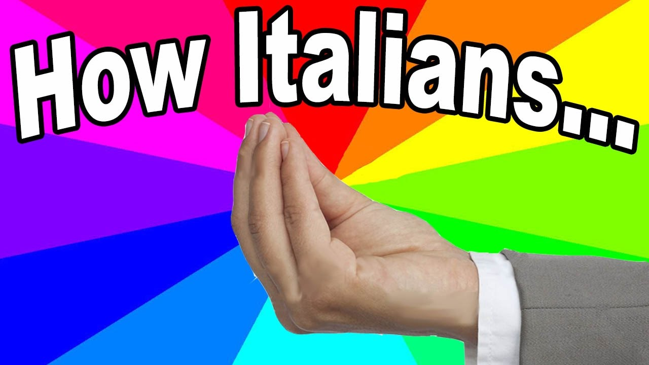 What Is The Italian Hand Gesture Meme? The Meaning And Origin Of The How  Italians Memes