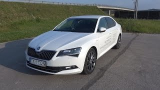 [PL] 2015 Skoda Superb Laurin & Klement 2.0 TDI Test PL / Prezentacja PL / In Depth Tour