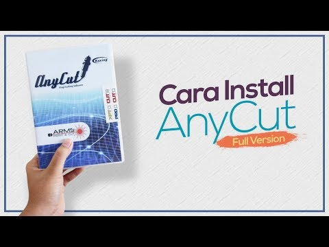 Tutorial Install AnyCut Full Version (JINKA Contour Cut
