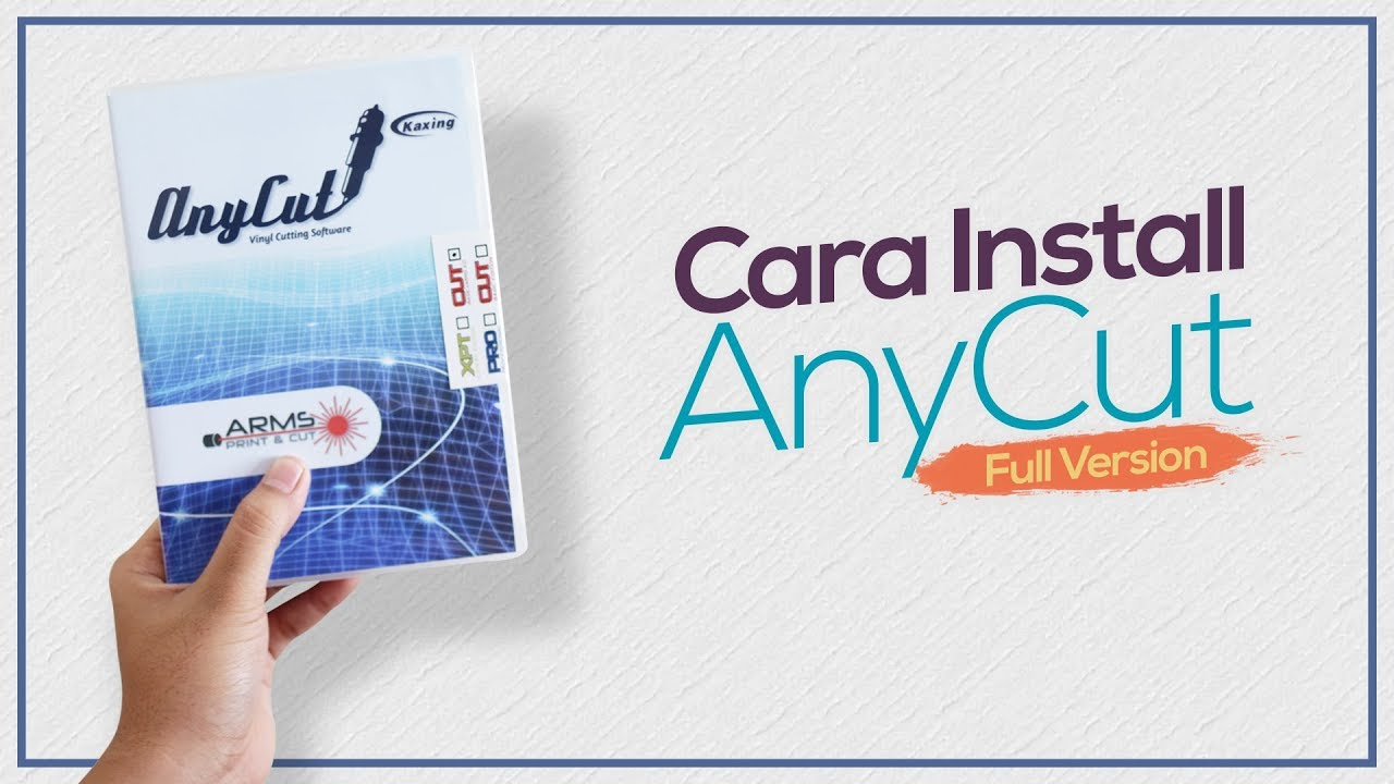 Tutorial Install AnyCut Full Version (JINKA Contour Cut Software) | AnyCut  Tutorial Part 1