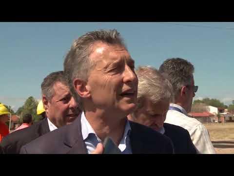 Declaraciones de Macri en San Benito 2