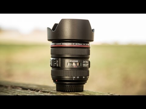 Canon 24-70 f/4L IS Hands On Review