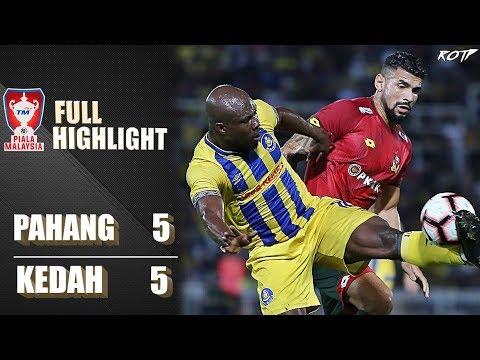 Pahang FA 5 - 5 Kedah (Highlight HD - Semifinal 2 Piala Malaysia - 26/10/2019)