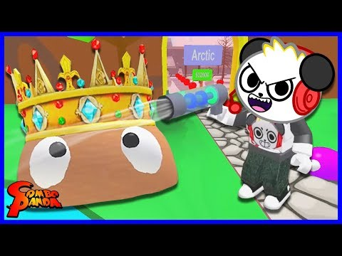 GIANT BOSS BLOB! Roblox Blob Simulator Let's Play with Combo Panda
